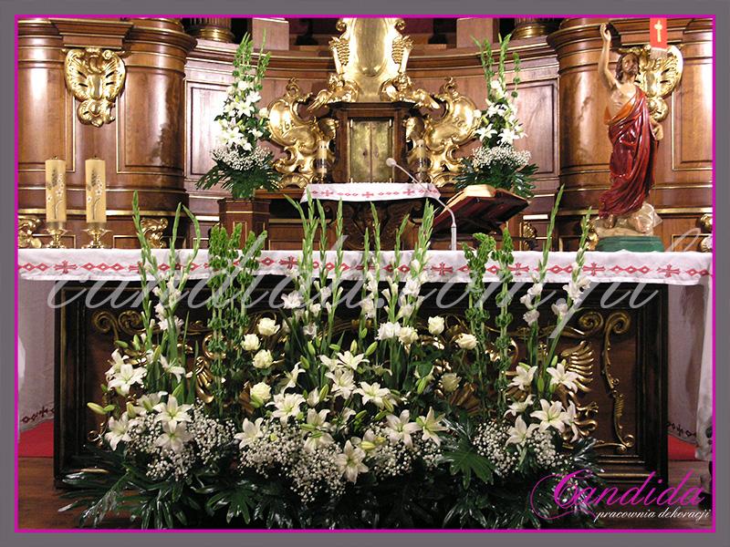Dekoracja Kościoła Dekorowanie Kościołów W Warszawie